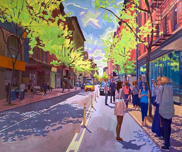 Spring Convergence-20x30 oil on lines.jpg