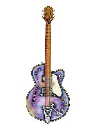 Purple Gretsch