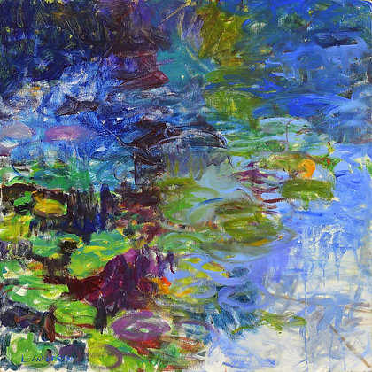 Reflections, Water Lilies