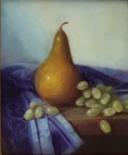 Mireille Duchesne - Pear and Grapes