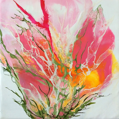 """Richard Coico """"Lady in Pink I"""" - Mothers' Day Special Price"""