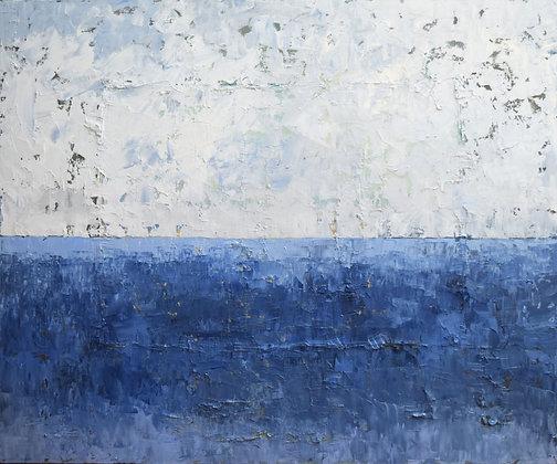"""""""Deep Currents""""  40 x 48"""