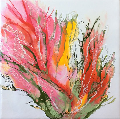 """Richard Coico """"Lady in Pink IV"""" - Mother's Day Special Price"""