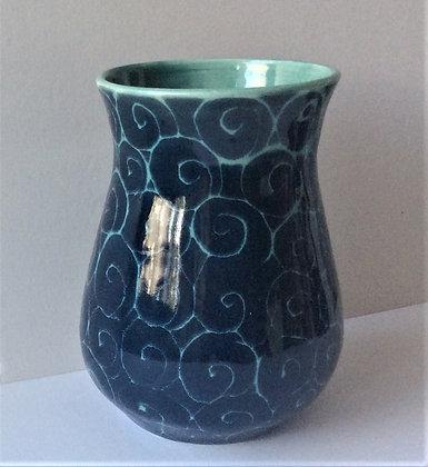 "Vivian Pyle ""Starry Night"" Small Vase"
