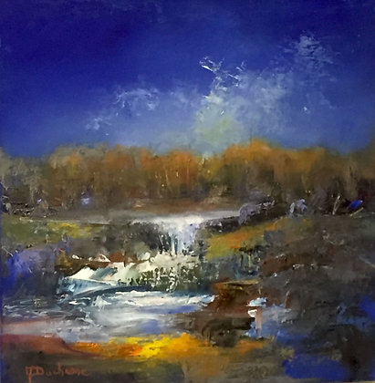 Mireille Duchesne - Splashing Blue