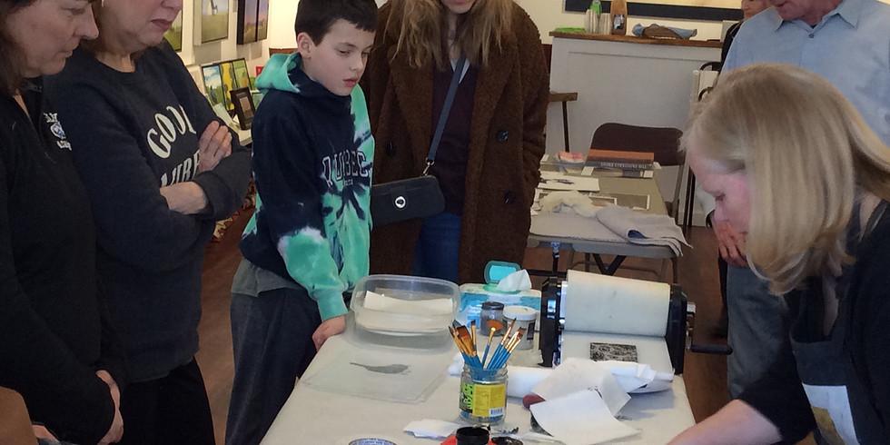 Printmaking with Jane Cooper