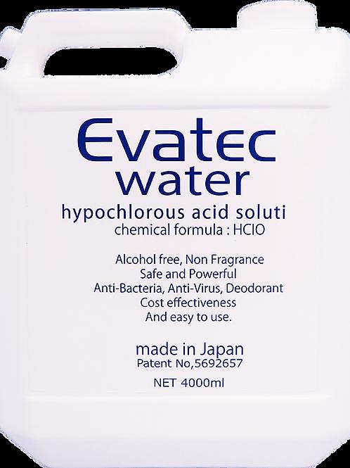 EW 4L (600ppm) エヴァテックウォーター
