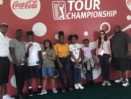Optimize The Vizion visits The 2019 Tour Championship