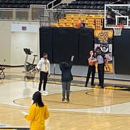 Vizionary Justin Williams shooting FTs at KSU game