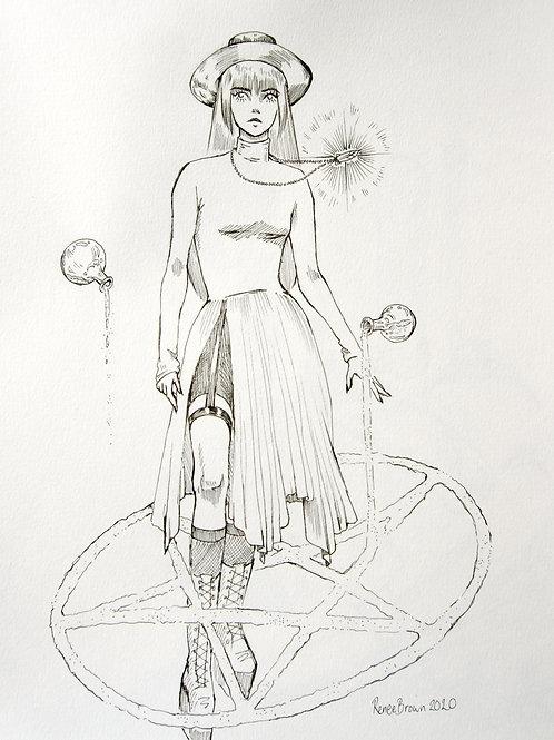 Inktober2020 Ritual Drawing