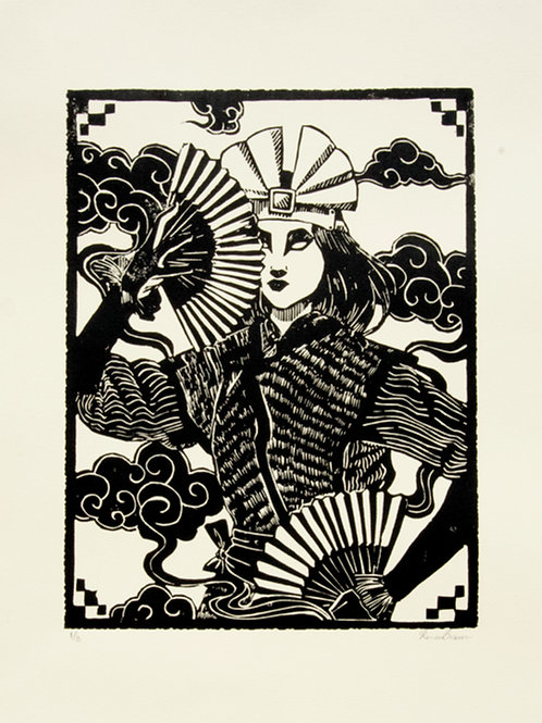 Kyoshi Limitied Edition Relief Prints