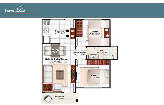 Casa Pré Fabricada 2 dormitórios