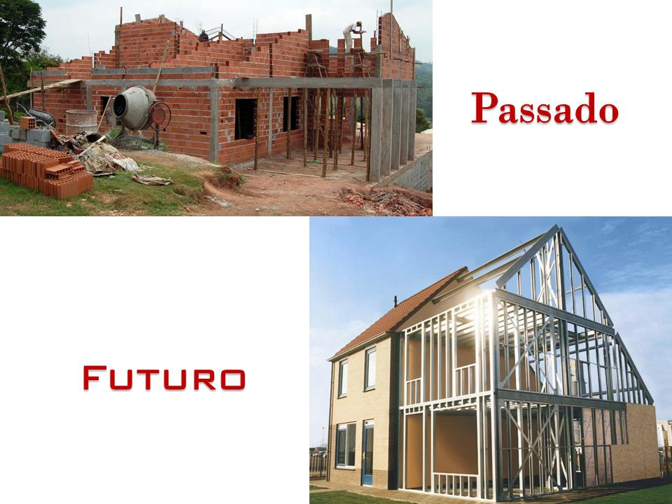 Casas pré fabricadas em aço steel frame