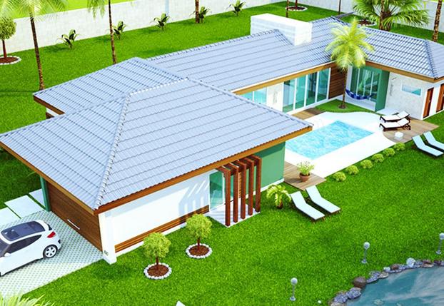 Casa Pré Fabricada 240m²