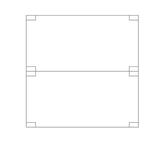 Módulos construtivos para construção de casas pré fabricadas 04