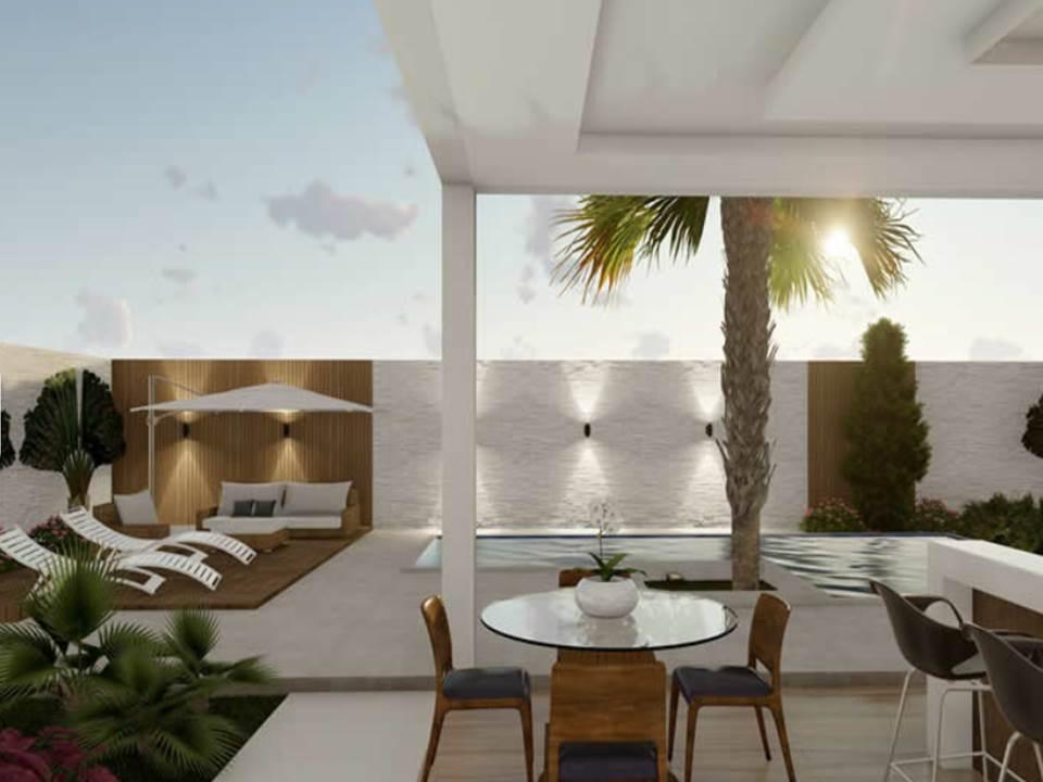 casa pre fabricada alto padrao 381 metros 3 suites 18