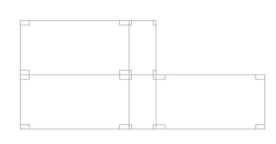 Módulos construtivos para construção de casas pré fabricadas 08