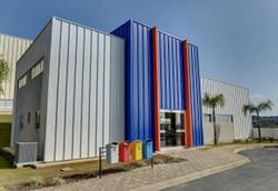 Empresa construída em steel frame
