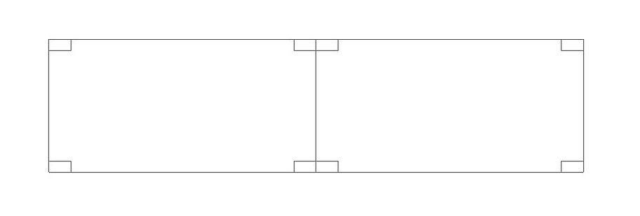 Módulos construtivos para construção de casas pré fabricadas 03