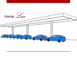 10 cobertura modular 30mx6m posto de gas