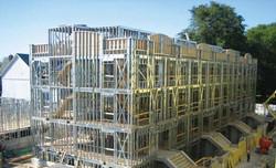 Construção de prédio em Steel Frame