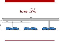 13 cobertura modular 30mx6m posto de gas