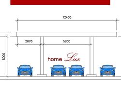 Módulo: cobertura 10m x 12m
