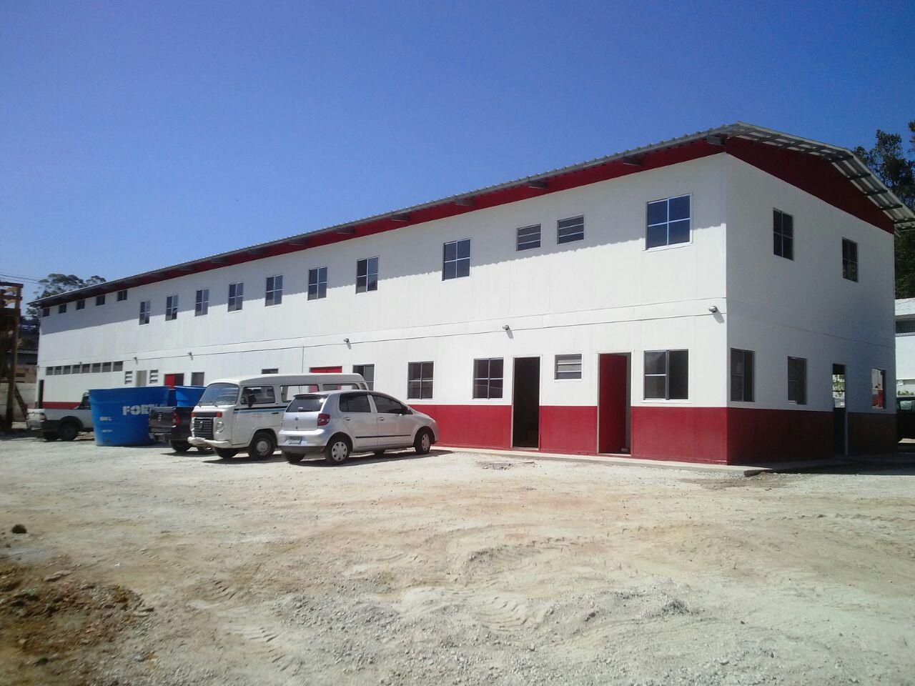 projeto e construção escritório pré fabricado 01