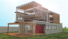 Casas modulars pré fabricadas