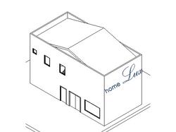 Módulo 144m² / 6m x 12m / 2 andares