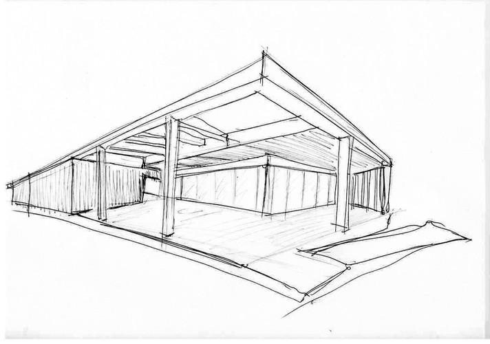 loja pre fabricada quiosque para praia 1