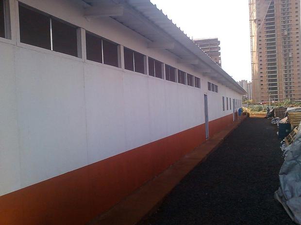projeto e construção escritório pré fabricado 02