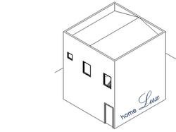 Módulo 72m² / 6m x 6m / 2 andares