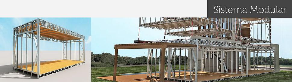 Módulos construtivos para construção de casas pré fabricadas 18
