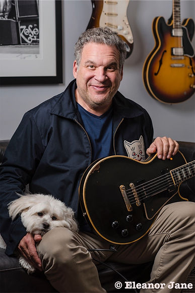 jeff garlin comedian of some notoriety with jeff's dog sage