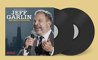 jeff garlin our man in chicago vinyl 2 l