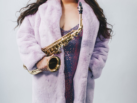 Ellen Pieroni on the Sax and More!