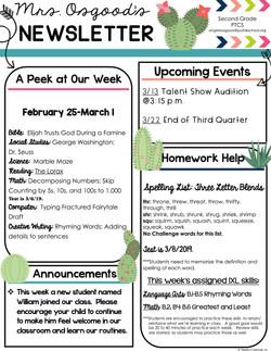 AngelaNewsletter2019March1stWeek