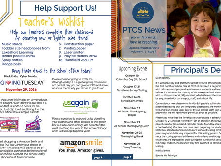 A look into our new school year! Sept/Oct Newsletter