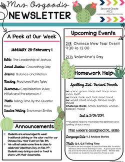 AngelaNewsletter2019February1stWeek