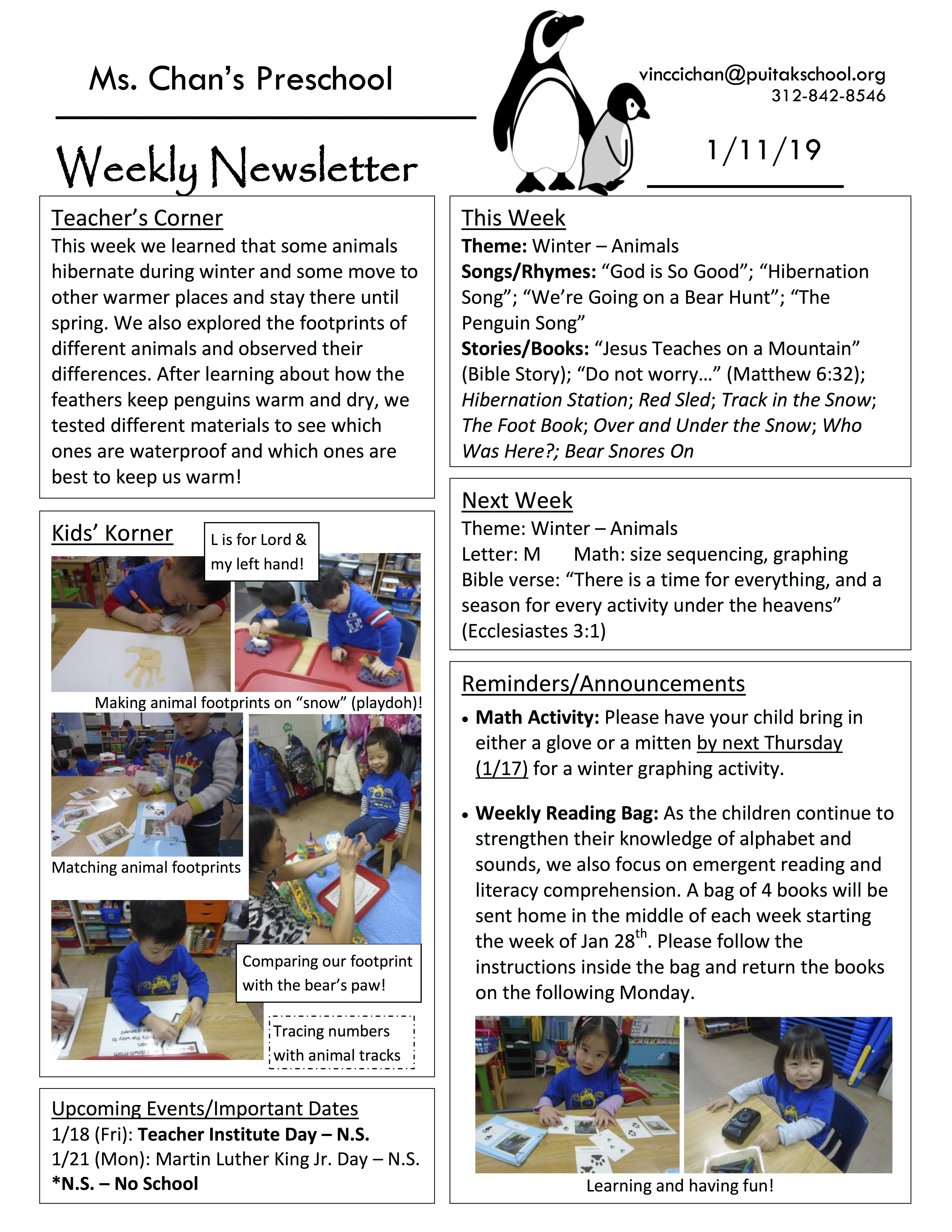 VincciNewsletter2019January2ndWeek.