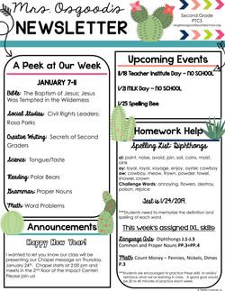 AngelaNewsletter2019January1stWeek