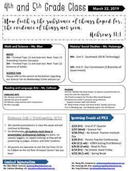 JanisNewsletter2019March4thWeek