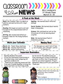 meaganNewsletter2019March2ndweek