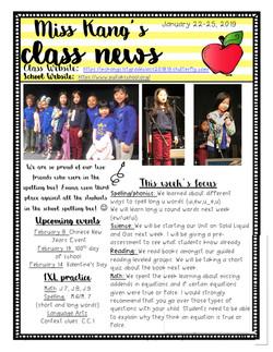 YvonneNewsletter2019January3rdWeek