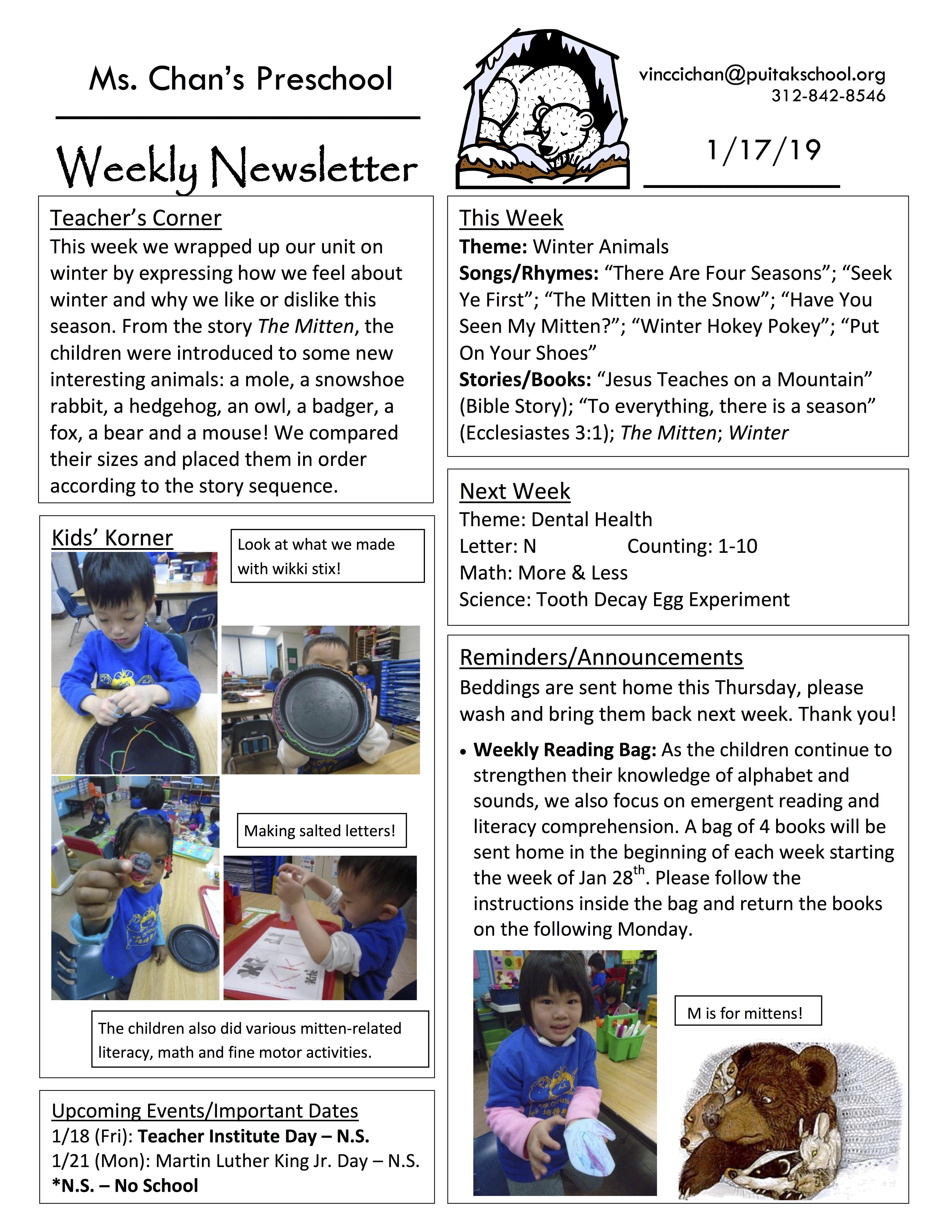 VincciNewsletter2019January3rdWeek
