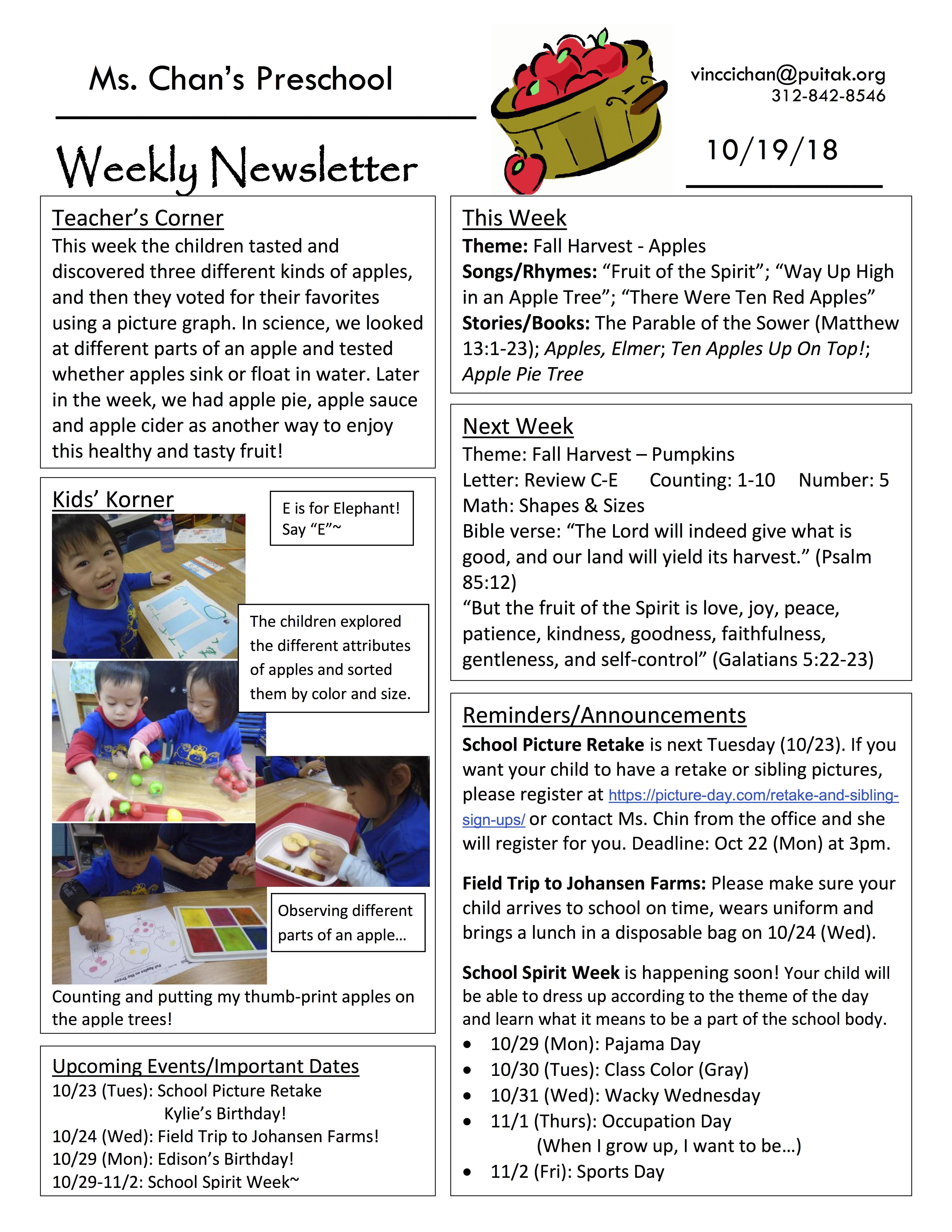 VincciNewsletter2018October3rdWeek