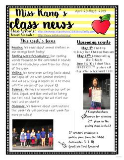 YvonneNewsletter2019May1stWeek