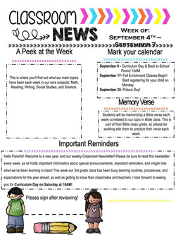 MeaganNewsletter2018September1stWeek