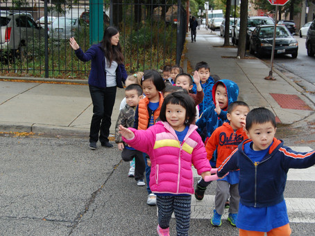 Exploring Chinatown with Preschool